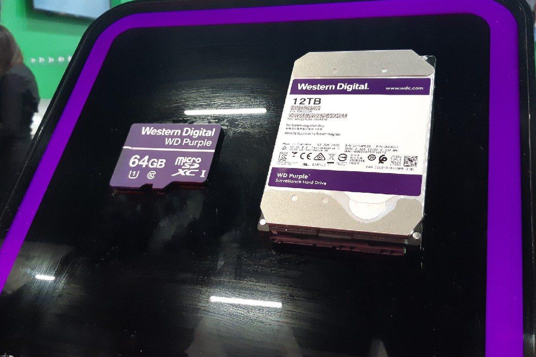 c72eac92a Western Digital apresenta HDD WD Purple de 12 TB com inteligência artificial